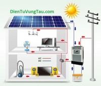 Hệ thống điện mặt trời 800W